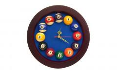 Часы ROTUNDO, 25x25 см, голубой
