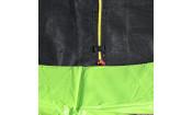 Батут DFC JUMP 6ft складной, c сеткой, цвет apple green