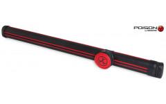Тубус Poison Armor Velcro 1x1 красный/чёрный