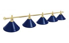 Светильник Prestige Golden Blue 5 плафонов