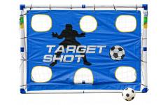 Разборные футбольные ворота с тренировочными сетками